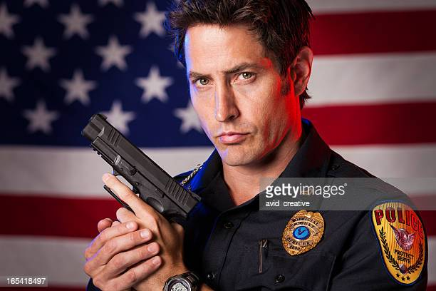 Patriotic Police Officer