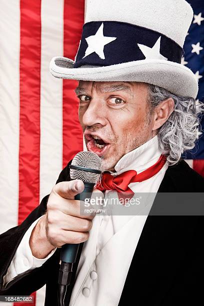 Patriotic Uncle Sam Wants YOU!