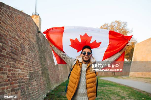 patriotism - canada day stock pictures, royalty-free photos & images