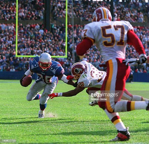 Patriots Curtis Martin The New England Patriots play the Washington Red Skins