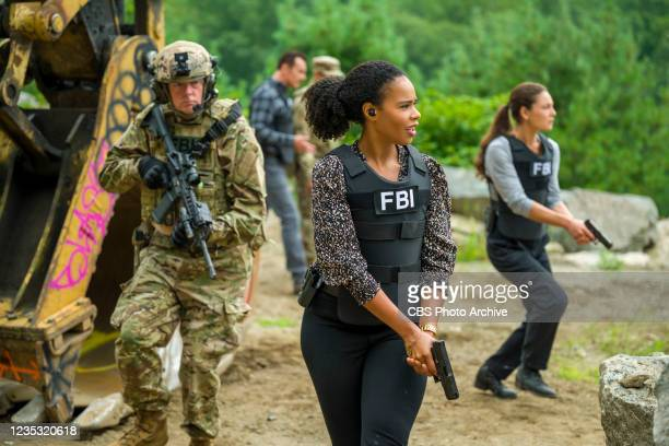 """""""Patriots"""" - New Fugitive Task Force member Kristin Gaines joins Jess and the team as they head to D.C. To find a dangerous fugitive from the Jan. 6..."""