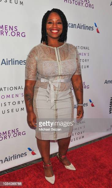 Patrisse Cullors at Women Making History Awards Los Angeles on September 15 2018 in Los Angeles California