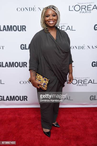Patrisse Cullors attends Glamour's 2017 Women of The Year Awards at Kings Theatre on November 13 2017 in Brooklyn New York