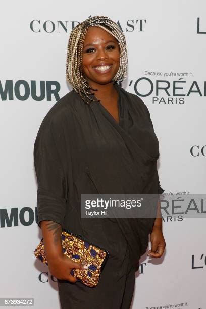 Patrisse Cullors attends the 2017 Glamour Women Of The Year Awards at Kings Theatre on November 13 2017 in New York City