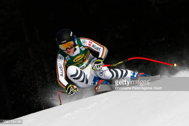 Patrizia Dorsch of Germany in action during the Audi FIS Alpine Ski World Cup Women's Super G on December 2 2018 in Lake Louise Canada