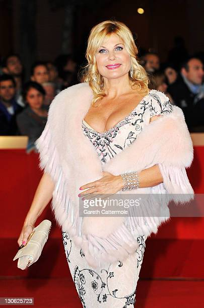 Patrizia Pellegrino attends the 'The Lady' Premiere and Opening Ceremony during 6th International Rome Film Festival on October 27 2011 in Rome Italy