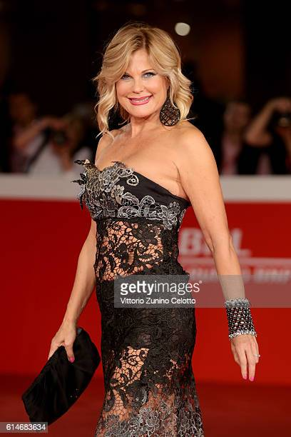 Patrizia Pellegrino walks a red carpet for 'Manchester By The Sea' during the 11th Rome Film Festival at Auditorium Parco Della Musica on October 14,...