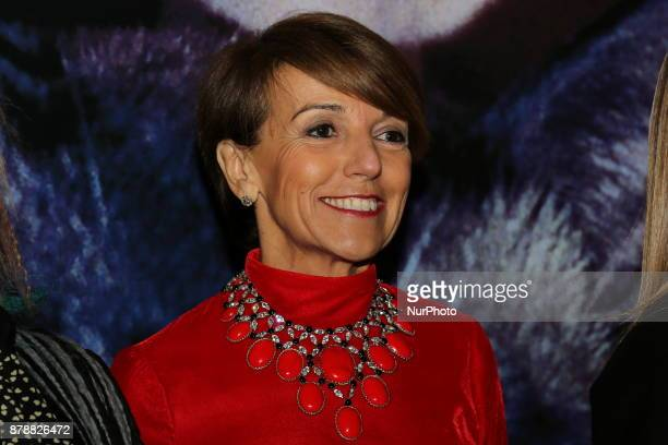 Patrizia Sandretto Re Rebaudengo during the opening ceremony of he 35nd edition of the Torino Film Festival on 24 November 2017 in Turin Italy