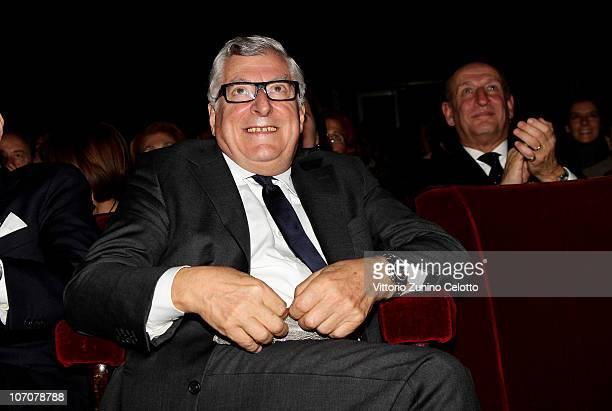Patrizio Bertelli attends the 2010 Carlo Porta Award held at Teatro Manzoni on November 22, 2010 in Milan, Italy.