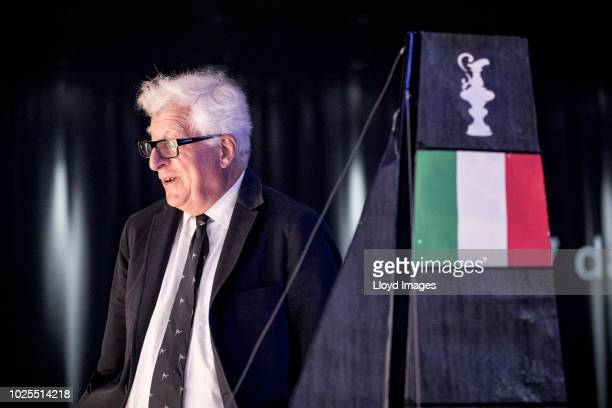 Patrizio Bertelli CEO of Prada at the 36th America's Cup Overture as part of the launch for the new protocol of the 36th edition of the Americas Cup...