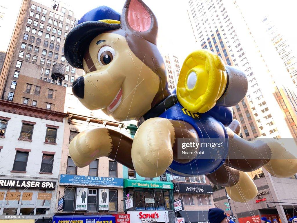 2018 Macy's Thanksgiving Day Parade : News Photo