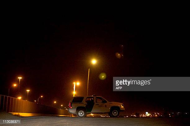 GONZALEZA patrol of the US Customs and Border Protection guards the border against illegal inmigrants in El Paso Texas on April 6 2011 as security in...