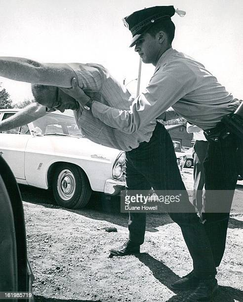MAY 26 1969 MAY 28 1969 Patrolman Lehman having been disarmed by Hagney is then given a through 'frisking' for additional weapons Training sessions...
