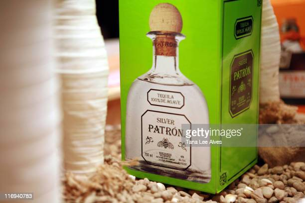 Patron Box during Hamptons Magazine and Christopher Designs Celebrate with Hamptons Cover Star Katie Lee Joel at Cain Night Club in Southampton New...
