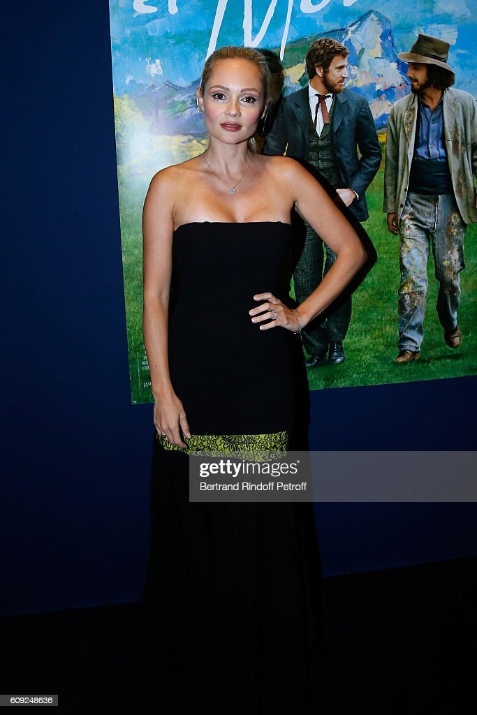 """'Fondation Claude Pompidou' : Charity Party & """"Cezanne et Moi"""" Screening At Georges V In Paris"""