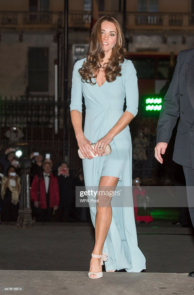 The Duchess Of Cambridge Attends The Wildlife Photographer of The Year 2014 Awards : ニュース写真