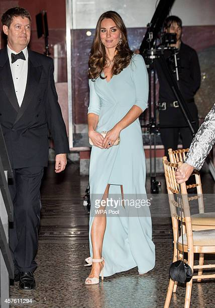 Patron of The Natural History Museum Catherine Duchess of Cambridge arrives at the Natural History Museum to attend the Wildlife Photographer of The...
