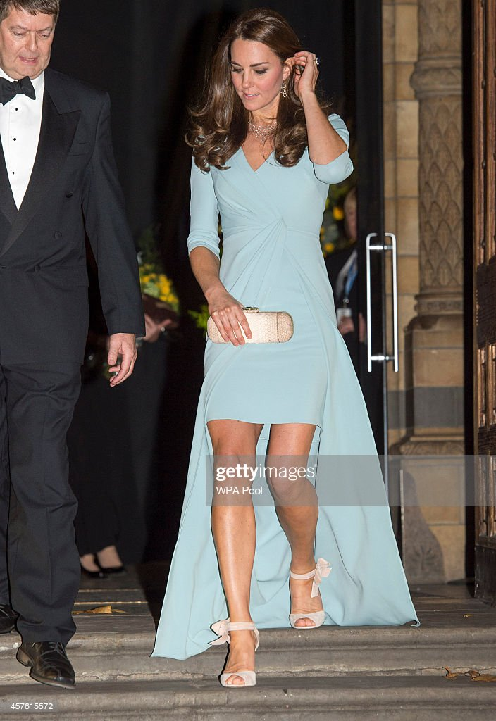 The Duchess Of Cambridge Attends The Wildlife Photographer of The Year 2014 Awards : News Photo