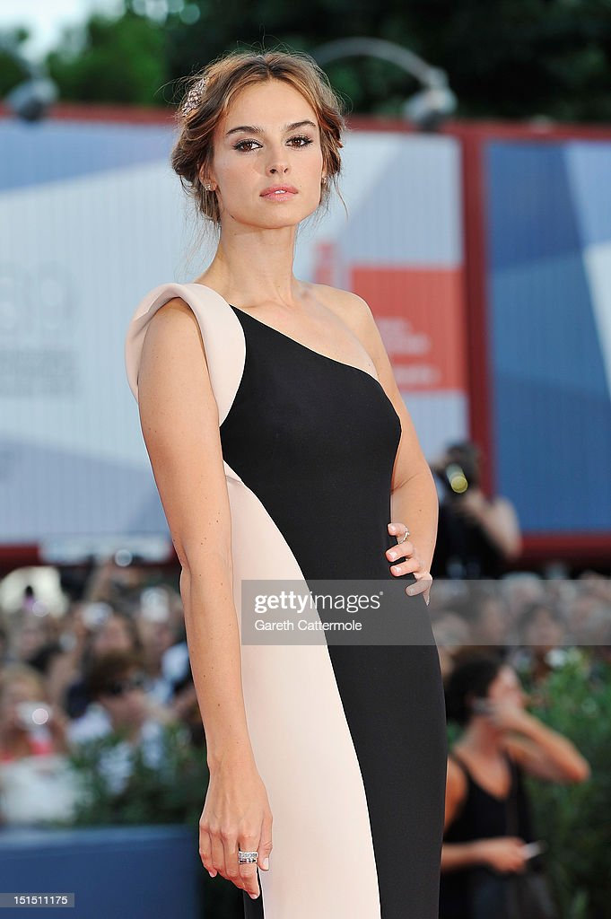 Patroness Kasia Smutniak attends the Award Ceremony during The 69th Venice Film Festival at the Palazzo del Cinema on September 8, 2012 in Venice, Italy.