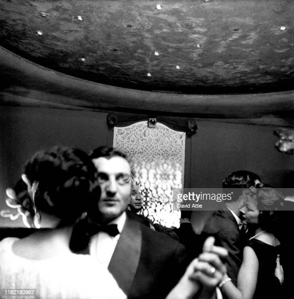 Patrons dancing at the famed El Morocco nightclub at 3534 Broadway in New York City New York at the height of Cafe Society Photo taken to illustrate...