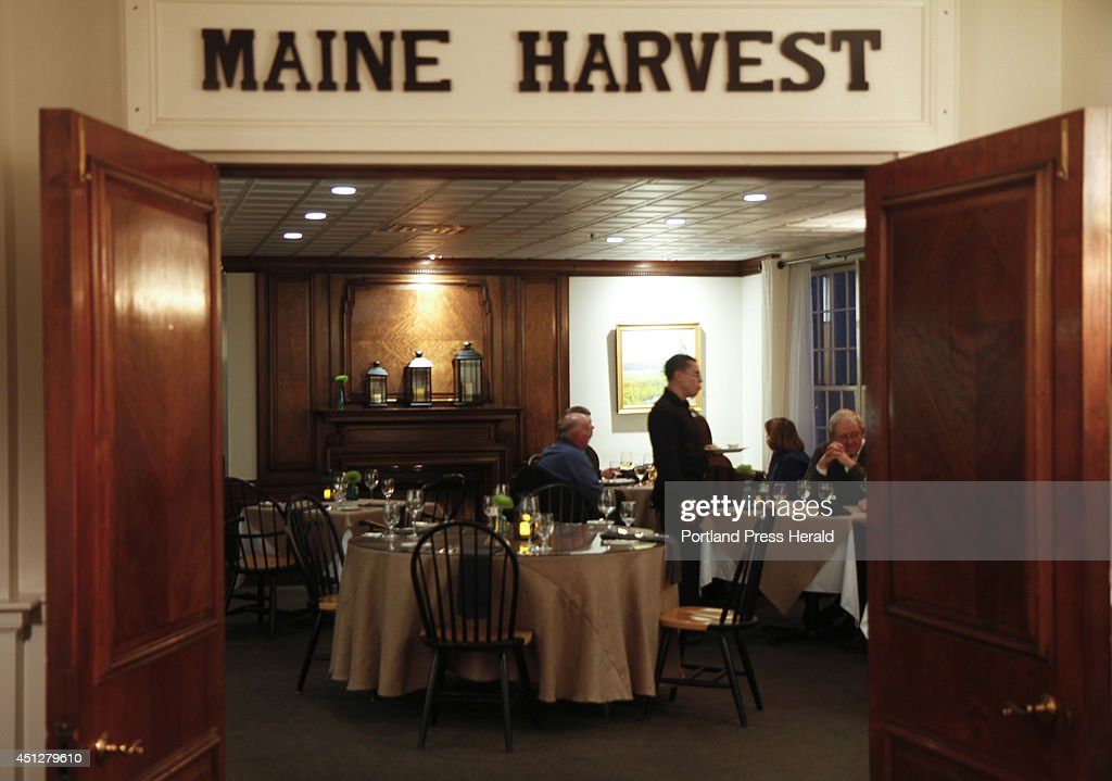 Patrons Eat In The Maine Harvest Dining Room At