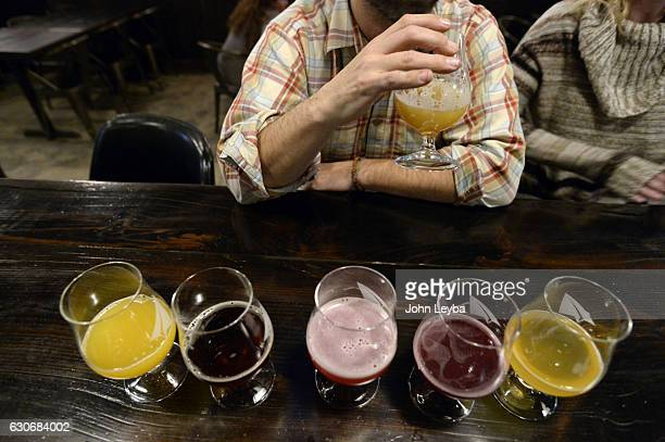 Patrons enjoy some craft beer at Black Project Spontaneous Wild Ales December 29 2016 The Post surveys dozens of craft beer professionals around the...