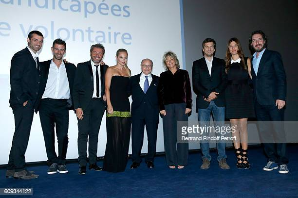 Patrons of the foundation Vincent Chatelain Jerome Anthony and Beatrice Rosen Professor Alain Pompidou Director of the movie Daniele Thompson Actors...
