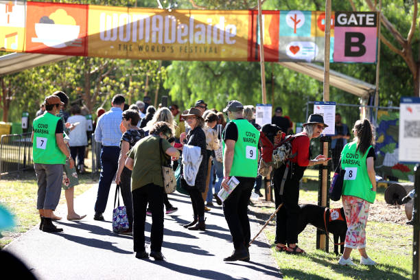AUS: Adelaide Music Fans Attend WOMADelaide 2021