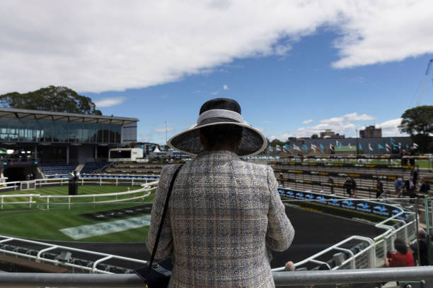 AUS: Crowds Attend The Everest Race Day Following Easing Of NSW COVID-19 Restrictions