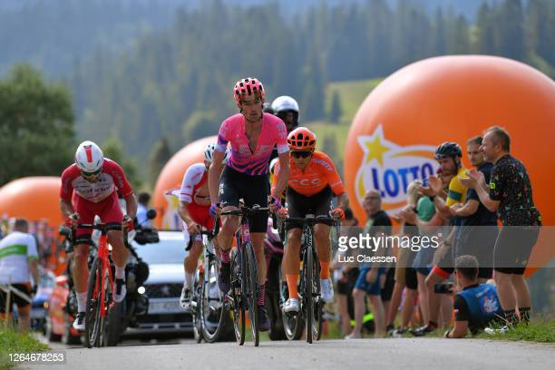Patryk Stosz of Poland and Team Poland / James Whelan of Australia and Team EF Education First / Kamil Malecki of Poland and CCC Team / Nathan Haas...