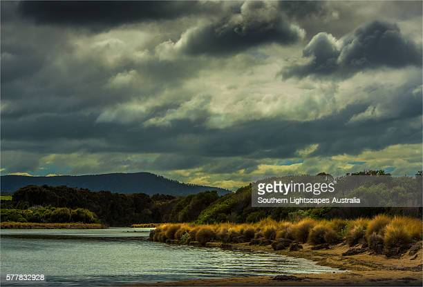 Pat's river estuary, near Whitemark, Flinders Island, Bass Strait, Tasmania.
