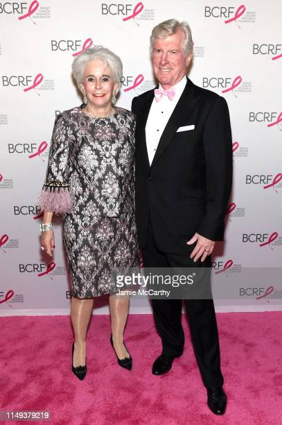 Patsy Callahan and Patrick Callahan attend the Hot Pink Party hosted by the Breast Cancer Research Foundation at Park Avenue Armory on May 15, 2019...