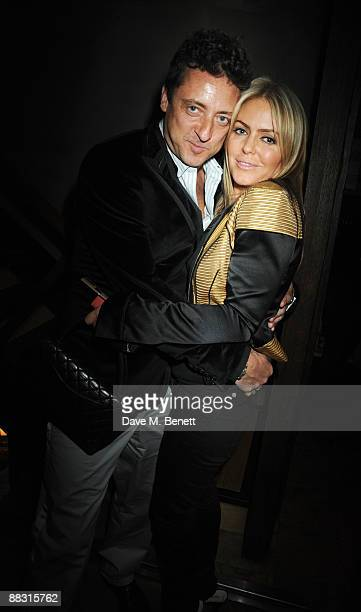 Patsy Kensit and Jeremy Healy attend the launch party for Greta Scacchi's Sustainable Fishing Campaign alongside the new film 'End Of The Line' at...