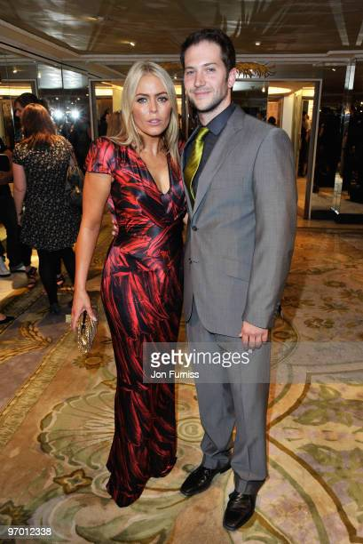 Patsy Kensit and Luke Roberts attend the TV Quick TV Choice Awards at The Dorchester on September 7 2009 in London England