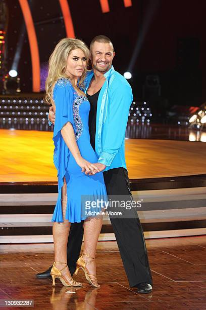 Patsy Kensit and Robin Windsor attend a photocall ahead of the Strictly Come Dancing Live Tour 2011 at Nottingham Capital FM Arena on January 14 2011...