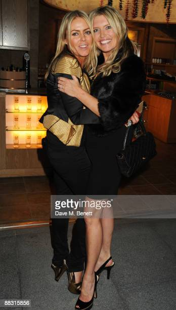 Patsy Kensit and Tina Hobley attend the launch party for Greta Scacchi's Sustainable Fishing Campaign alongside the new film 'End Of The Line' at...