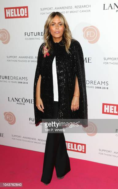 Patsy Kensit arrives at 'TEN A Decade of Dreams' at London Palladium on September 30 2018 in London England The Event is in aid of Breast Cancer...