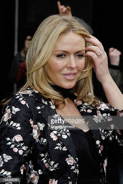 Patsy Kensit arrives for The TRIC Awards 2008 at The Grosvenor House Hotel on March 11, 2008 in London, England.