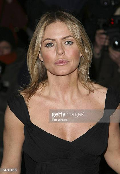 Patsy Kensit at the St Martin's Lane Hotel in London, United Kingdom.