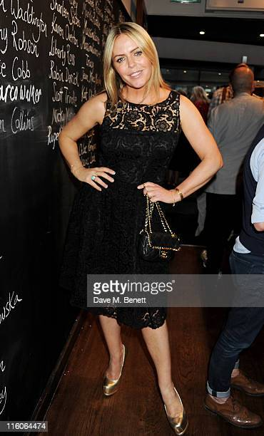 Patsy Kensit attends a dinner hosted by Katie Grand and Sara Ferrero at Joe's on June 14 2011 in London England