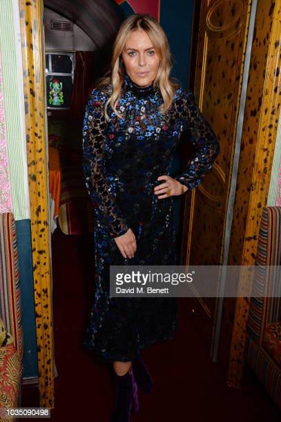Patsy Kensit attends the LOVE Magazine 10th birthday party with PerrierJouet at Loulou's on September 17 2018 in London England