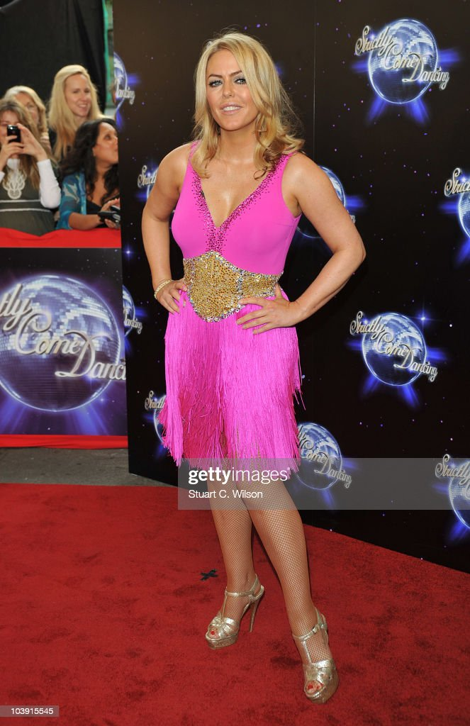 Patsy Kensit attends the 'Strictly Come Dancing' Season 8 Launch Show at BBC Television Centre on September 8, 2010 in London, England.