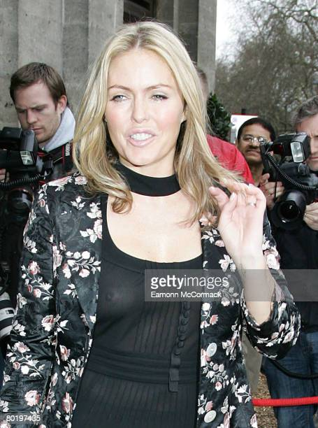 Patsy Kensit attends the TRIC Awards 2008 at the Grosvenor House Hotel on March 11, 2008 in London, England.