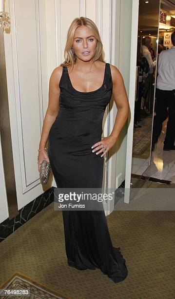 Patsy Kensit attends the TV Quick and TV Choice Awards at the Dorchester Hotel on September 03 2007 in London