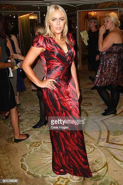 Patsy Kensit attends the TV Quick TV Choice Awards Champagne reception held at The Dorchester on September 7 2009 in London England