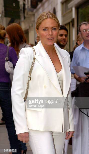 Patsy Kensit during 1st Birthday Party of the Stella McCartney Store - Arrivals at Stella McCartney Shop, 30 Bruton Street in London, Great Britain.