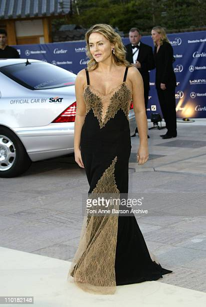 Patsy Kensit during 2003 Laureus World Sports Awards Arrivals at Grimaldi Forum in Monte Carlo Monaco