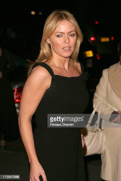 Patsy Kensit during 2005 Children's Champions Awards at Grosvenor House Hotel in London Great Britain