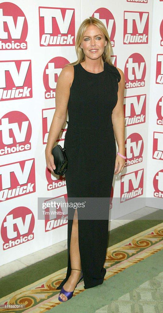 2005 TV Quick & TV Choice Awards - Arrivals : News Photo