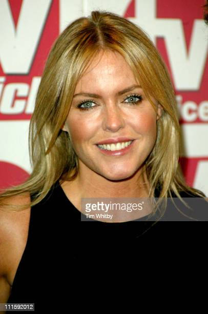 Patsy Kensit during 2005 TV Quick TV Choice Awards Arrivals at Dorchester Hotel in London Great Britain